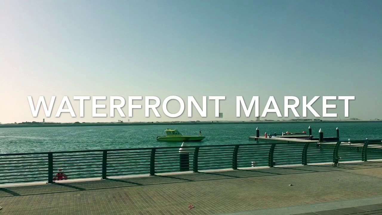New Waterfront Fish Market in Dubai