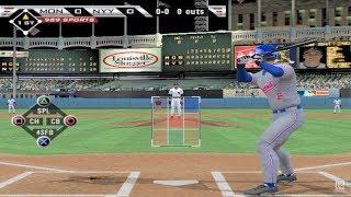 MLB 2005 PS2 Gameplay HD