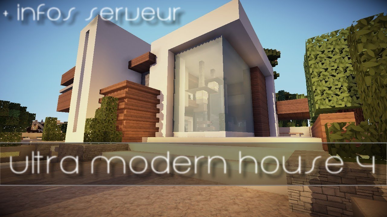 Maison Ultra Moderne 4 Builder sans WE ! - Visite + Download - YouTube