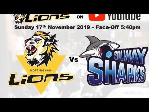 Nottingham Lions V Solway Sharks LIVE