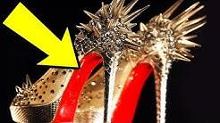 Warum Louboutin-Schuhe so teuer und rot sind