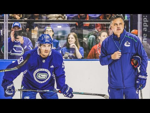 Canucks Training Camp - Behind the Scenes