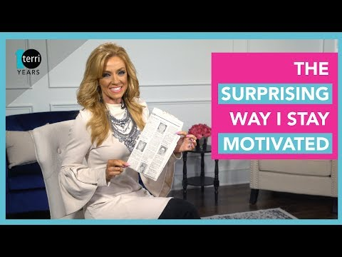 The Surprising Way I Stay Motivated