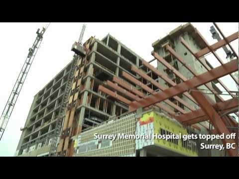 Surrey Memorial Hospital gets topped off
