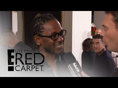 Kendrick Lamar Talks Amazing 11 Grammy Nominations | Live from the Red Carpet | E! News