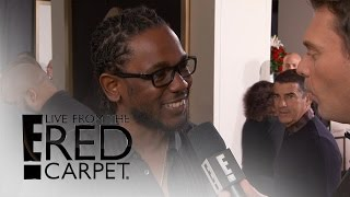 Kendrick Lamar Talks Amazing 11 Grammy Nominations | Live from the Red Carpet | E! News Video