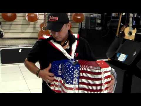 JAIME  LEADER OFLOS CHAMACOS GABANELLI ACCORDION SHOPHOUSTON, TX 022720216