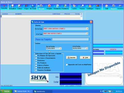 Point Of Sale SHYA (Punto de Venta)