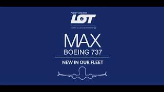 Boeing 737 MAX 8 touchdown