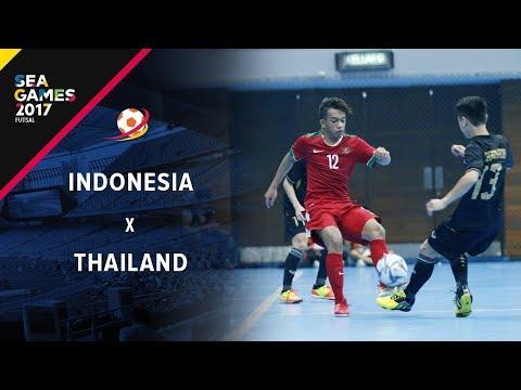 Indonesia (4) VS (2) Thailand -  Futsal Putra Sea Games 2017