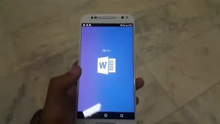 moto x pure 2015 tips and tricks: how to start excel and ms word.
