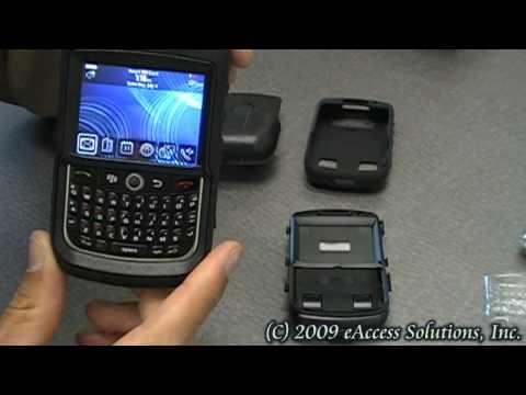 BlackBerry Curve 8900 Rugged Otterbox Case Installation Demo