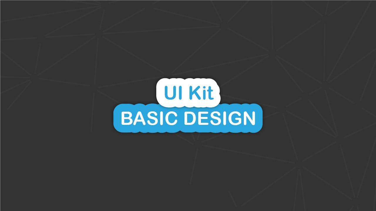 UI Kit - Basic Design - Button Examples