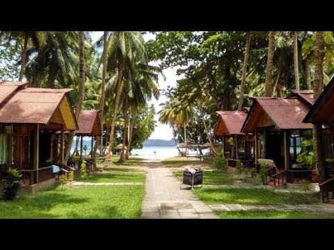 Symphony Palms Resort Private Beach View| Places To Stay In Havelock| Andaman Island|Sanjukta Khound