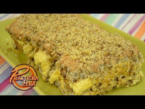 Praktična žena - Splitska ili Mimoza torta od suvog voća i oraha - Anja Alač