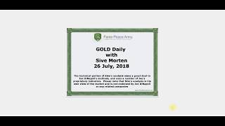 Forex Peace Army | Sive Morten Gold Daily 07.26.18