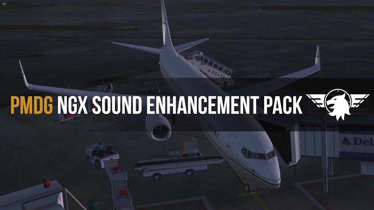 Great alternative sound pack for the PMDG NGX - MS FSX   FSX-SE