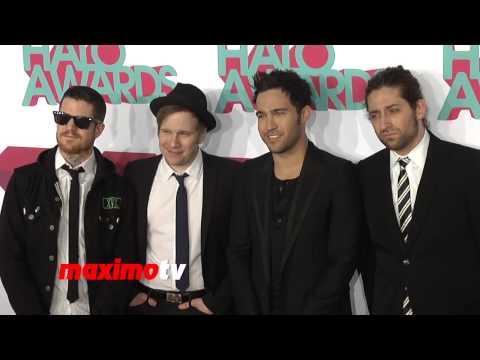 Fall Out Boy 2013 TeenNick HALO Awards Orange Carpet Arrivals - Musical Band