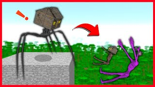 KORKUNÇ EV AİLESİNİ KURTARABİLECEK Mİ? 😱 - Minecraft