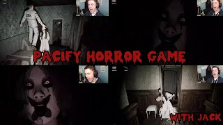 Pacify INDIE COOP HORROR GAME / WARNING JUMPSCARES