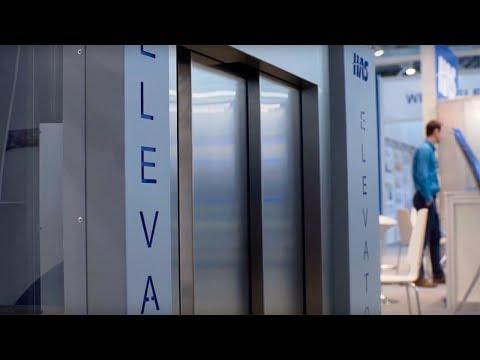 В Москве показали лифты нового поколения