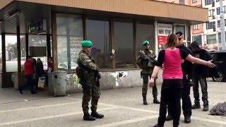 Smažka vs armáda, policie, měšťáci