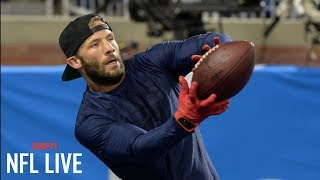 Julian Edelman workout video shows progress for Patriots | NFL Live | ESPN