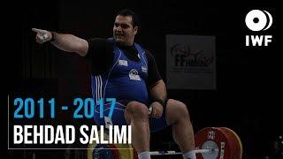 Behdad Salimi | 2011 - 2017 Snatch Progression