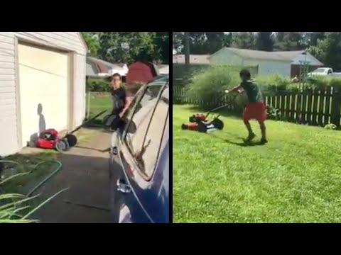 Neighbors Surprise Kindhearted Boy With New Lawn Mower — UPDATE from YouTube · Duration:  1 minutes 47 seconds