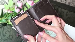Мужской кошелёк из натуральной кожи. Обзор покупки на Aliexpress.