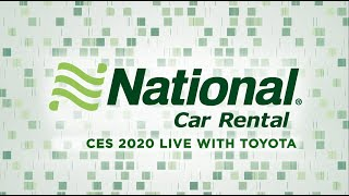 National Live at CES 2020 – Toyota
