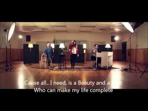 """Download """"Beauty And A Beat"""" - (Justin Bieber) cover lyrics + Chords collab by Alex Goot and friends"""