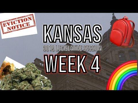 Weeks 4 Recap - 2019 Kansas Legislative Session