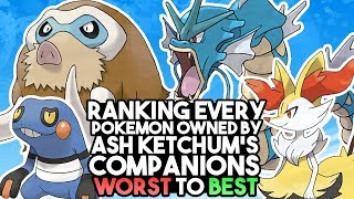 Ranking Every Pokemon Owned By Ash Ketchum's Friends From Worst To Best