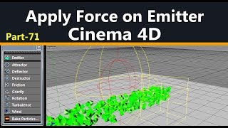 How to apply force on Emitter
