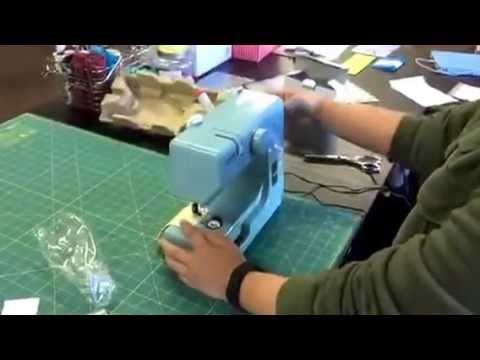 Sew Mini Sewing Machines By Janome YouTube Inspiration Janome Mini Sewing Machine
