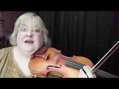 Violin - Simple Gifts - Tutorial for Beginners / Intermediates