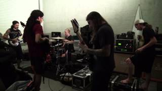 "Abiotic ""Perceptive Impurity"" – new song rehearsal clip"