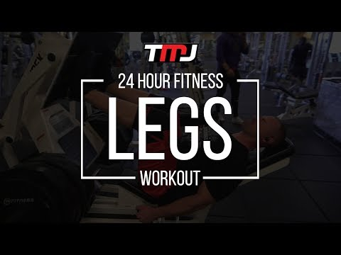 Legs Workout | In The Gym With Team MassiveJoes | 24 Hour Fitness | 3 Sep 2017