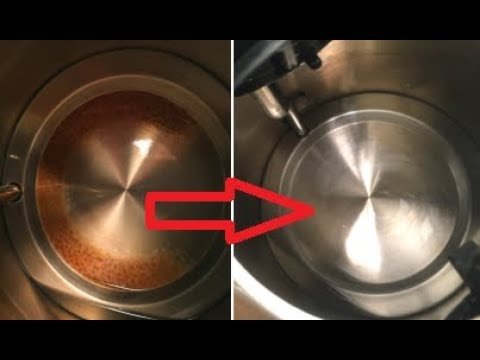 How To Remove Rust From Water Boiler Kettle -Life Hacks