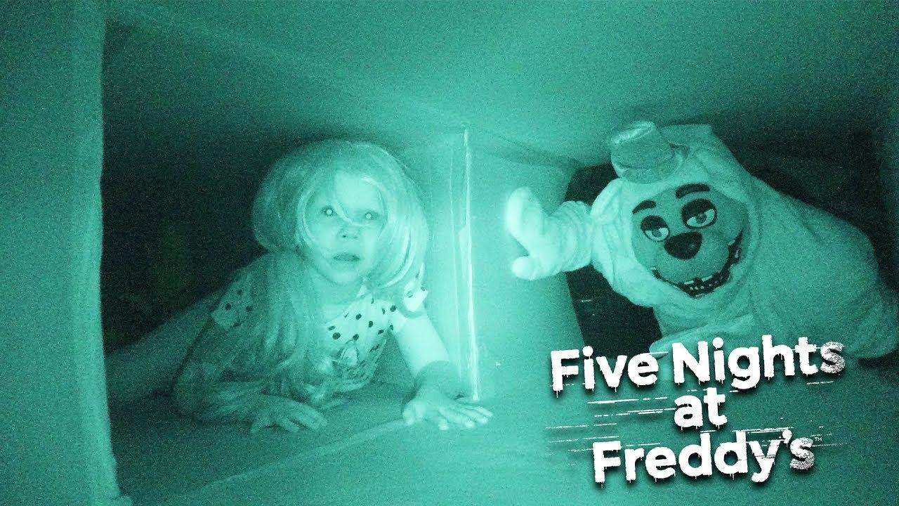 Пять Ночей у Фредди в Реальной Жизни! | Смотреть Фредди Приколы