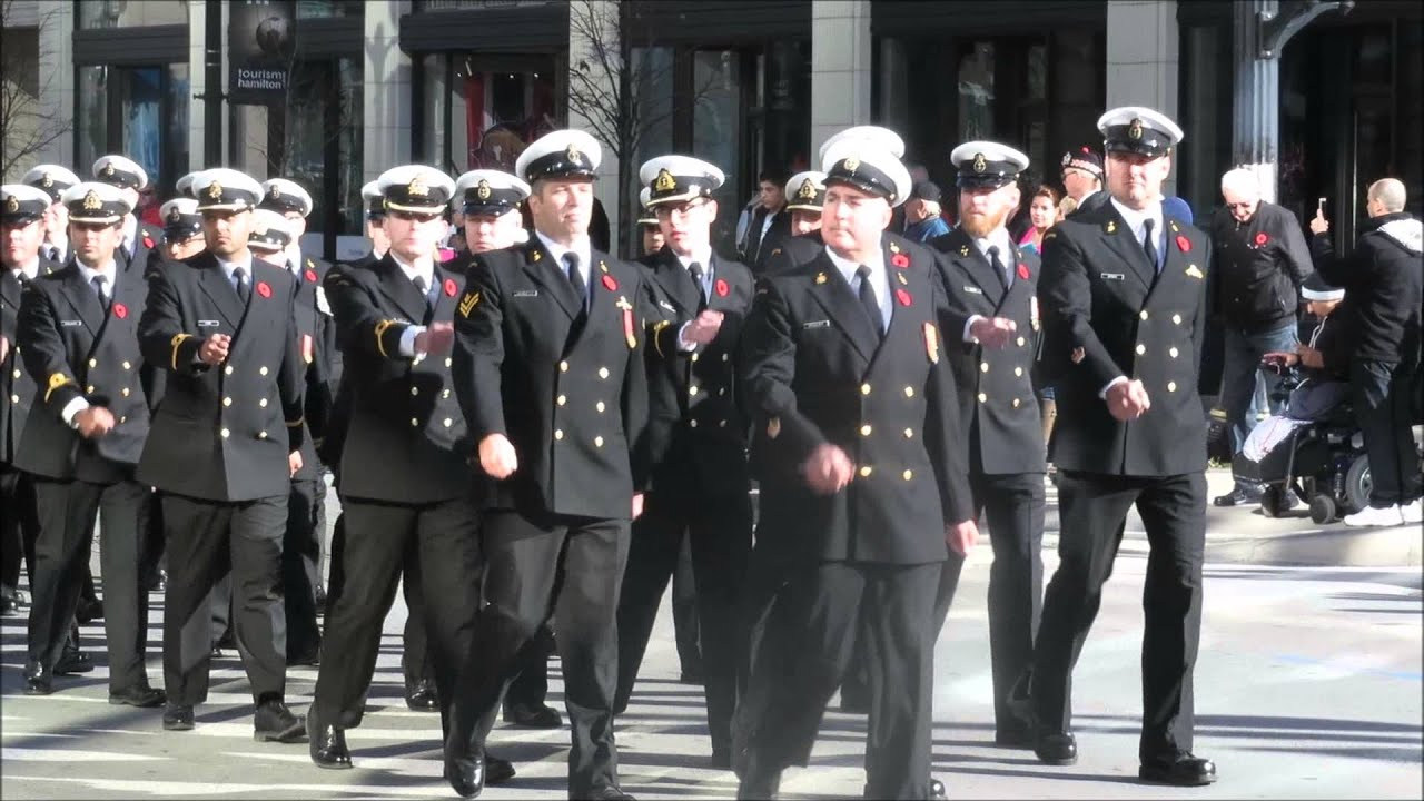 remembrance day parade nov 8th 2015 hamilton by bill mehlenbacher