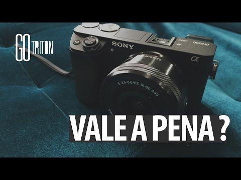 Sony a6300 vale a pena investir? Portugues Br | REVIEW Fernando Cesar