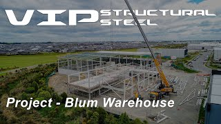 Blum Warehouse, Wigram Christchurch - VIP Structural Steel Project 2019
