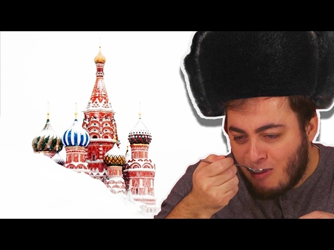 Türkler Rus Yemeklerini Tadıyor