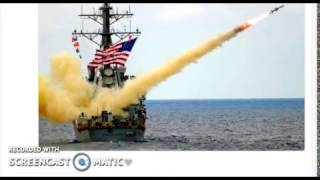 Trump Fires Over 50 Tomahawk Missles From Navy Ships Bombing Syria - Russia Warned Prior