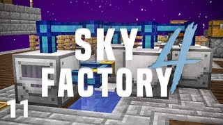 SkyFactory 4 Ep. 11 Infinite Water + Construct's Armory
