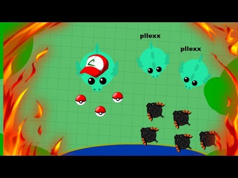 mope.io//pllexx h20//pokemon and Controlling 2 dragons//mini black drago(skin)