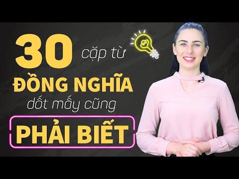 30 CẶP TÍNH TỪ ĐỒNG NGHĨA THÔNG DỤNG NHẤT TRONG TIẾNG ANH - Học Tiếng Anh Online (Trực Tuyến)