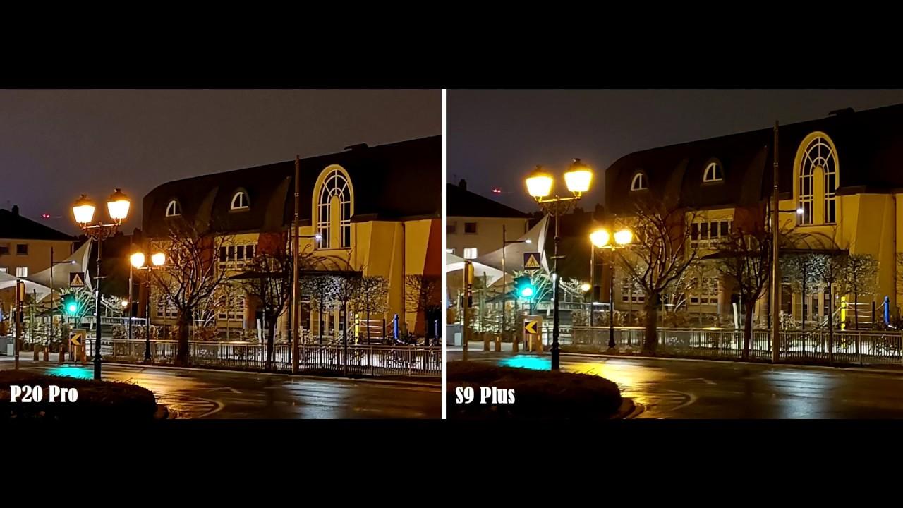 Huawei p20 pro vs samsung s9 kamera